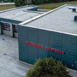 Feuerwehr Faistenau Falchdach Fassade Essl-dach slider