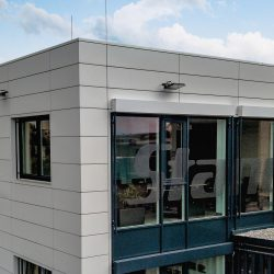 Gewerbe Fassade Metall essl-dach.at Wärmedämung Konstruktion (3)slider